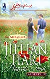 Hart, Jillian: Heaven's Touch (The McKaslin Clan: Series 2, Book 2) (Larger Print Love Inspired #315)