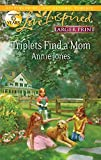 Jones, Annie: Triplets Find a Mom (Love Inspired Larger Print)