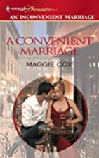 A Convenient Marriage by Maggie Cox