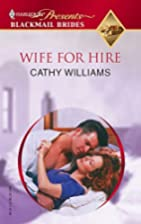 Wife for Hire by Cathy Williams