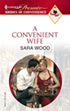 A Convenient Wife by Sara Wood