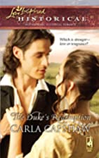The Duke's Redemption (Love Inspired…