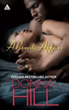 A Private Affair by Donna Hill