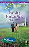 Jones, Annie: Marrying Minister Right (Love Inspired)