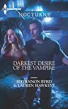 Darkest Desire of the Vampire: Wicked in…