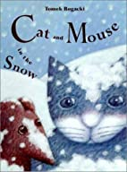 Cat and mouse in the snow by Tomasz Bogacki
