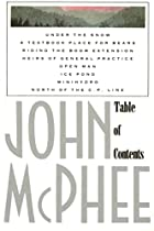 Table of Contents by John McPhee