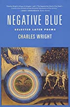 Negative Blue: Selected Later Poems by…