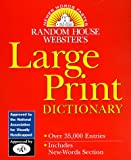 Random House Staff: Random House Webster's Large Print Dictionary