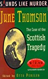 Penzler, Otto: The Case of the Scottish Tragedy: Sounds Like Murder, Vol. I