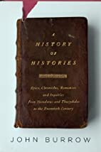 A History of Histories: Epics, Chronicles,…