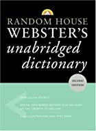 Random House Webster's Unabridged…
