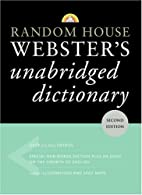 Random House Webster's Unabridged Dictionary…