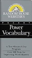 Random House Webster's Pocket Power…