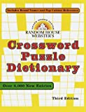 [???]: Random House Webster's Crossword Puzzle Dictionary