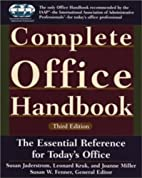 Complete Office Handbook: Third Edition by…