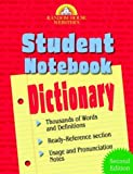 Random House Dictionary Staff: Random House Webster's Student Notebook Dictionary
