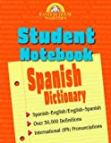 Random House: Random House Webster's Student Notebook Spanish Dictionary