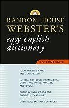 Random House Webster's Easy English…