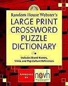 Random House Webster's large print…