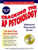 Sternberg, Robert: Cracking the AP Psychology, 2000-2001 Edition