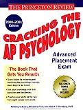 Sternberg, Robert: Cracking the AP Psychology, 2000-2001 Edition