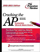 Cracking the AP Economics by David Anderson