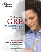 Cracking the GRE Psychology Subject Test by…