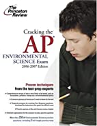 Cracking the AP Environmental Science Exam,…