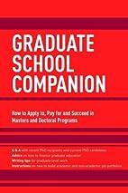 Graduate School Companion by Princeton…