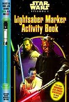 Lightsaber Marker Activity Book (Coloring…