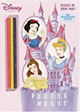 RH Disney: Puzzle Magic (Color Plus Glitter Pencils)