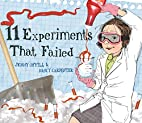 11 Experiments That Failed by Jenny Offill