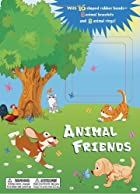 Animal Friends: With 16 shaped rubber…