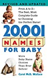 Wallace, Carol: 20,001 Names for Baby