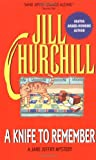 Churchill, Jill: A Knife to Remember