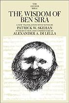 The Wisdom of Ben Sira : a new translation…