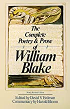 The Complete Poetry & Prose of William Blake…