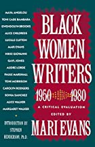 Black Women Writers (1950-1980): A Critical…