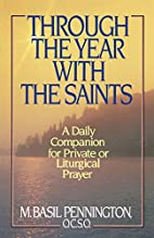 Through the Year with the Saints by Basil…