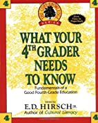 What Your Fourth Grader Needs to Know by…
