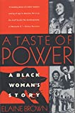 Brown, Elaine: A Taste of Power: A Black Woman's Story