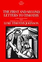 The First and Second Letters to Timothy by…