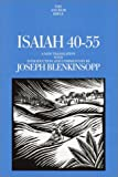 Blenkinsopp, Joseph: Isaiah 40-55 : A New Translation with Introduction and Commentary