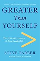 Greater Than Yourself: The Ultimate Lesson…