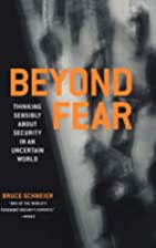 Beyond fear : thinking sensibly about…