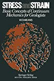 Means, W. D.: Stress and Strain: Basic Concepts of Continuum Mechanics for Geologists