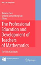 The professional education and development…