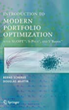 Introduction to Modern Portfolio…