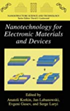 Nanotechnology for Electronic Materials and…